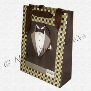 Gents Gift Bag - All Tuxed Up