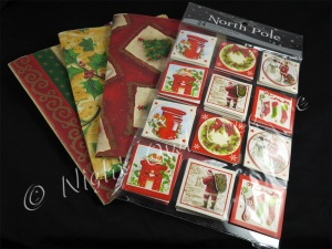 Christmas Gift Wrap & Tags - Traditional