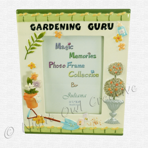 Photo Frame for the Gardening Guru