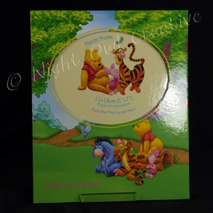 Pooh Bear Photo Frame - I Like My Friends - Butterfly