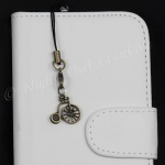 Penny Farthing Bicycle Mobile Phone Charm for Smartphone, iPhone, Samsung, HTC etc