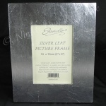 Artisan Photo Frame -  Genuine Silver Leaf 4 x 6